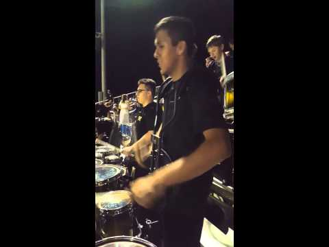 Verrado High School band at a football 2015 game part 1