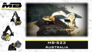 The Screening Bucket MB-S23 in Australia working underwater
