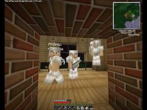"""Смотреть прохождение игры [Coop & Friends] Minecraft 1.3.1. Серия 11: """"Строим, строим, строим.. :))""""."""