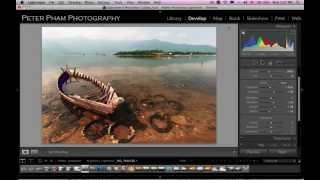 Học Lightroom 4 - 034 Làm trong tấm hình và thêm sắc độ