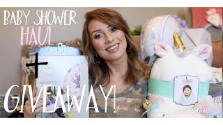 BABY SHOWER HAUL + FUN BABY SHOWER IDEAS + GIVEAWAY