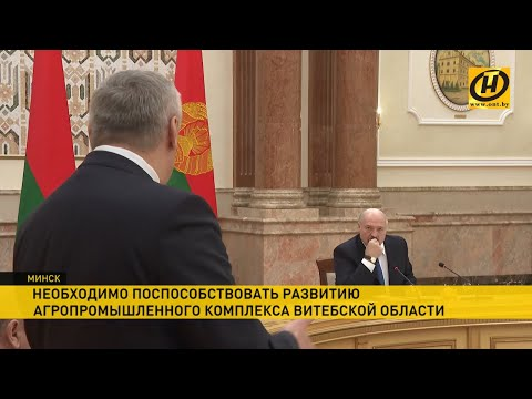 Лукашенко жестко высказался о долгах и дисциплине в АПК Витебской области