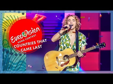 Eurovision 1956-2017 - TOP20 Countries That Finished Last the Most of Times | #ESC2018