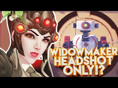 OVERWATCH WIDOWMAKER HEADSHOT ONLY CUSTOM GAMEMODE!?
