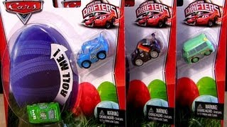 Micro Drifters Cars Surprise Toys Holiday Edition Cars2 Disney Pixar CARS2 Easter Eggs toys