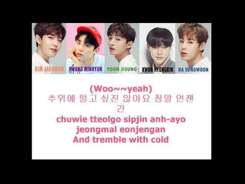 Downpour - Produce 101 Season 2  [Han/Rom/Eng] Color Coded Lyrics