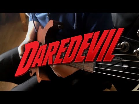 Marvel's Daredevil Theme on Guitar
