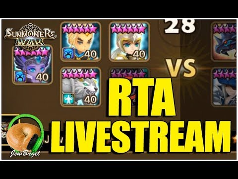 SUMMONERS WAR : 12/13 World Arena Livestream