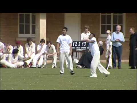 Cricket for Change - Downside Fisher Youth Club visit to Downside School, Somerset - May 2009.wmv