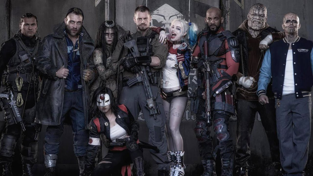 Suicide Squad FIRST LOOK!! - YouTube