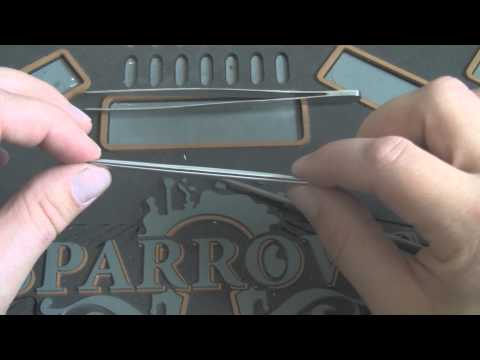 Pinning tweezers - Get one or make one