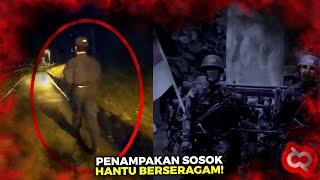 TEREKAM JELAS!! Penampakan Hantu Tentara Terseram yang Pernah Viral dan Bikin Heboh