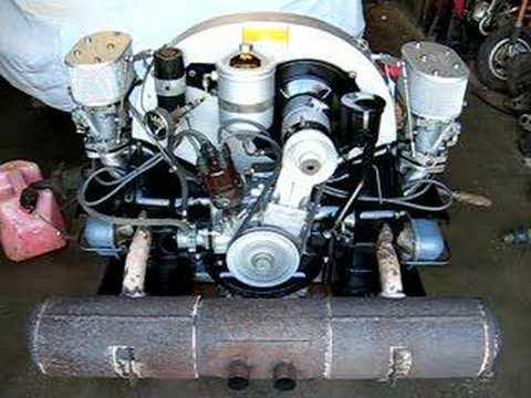 1963 Porsche Super 90 Engine Youtube