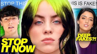 Billie Eilish DRAGS TikTokers For Doing THIS?! Dixie & Addison RESPOND To DEEPFAKES, Bryce SAID WHAT