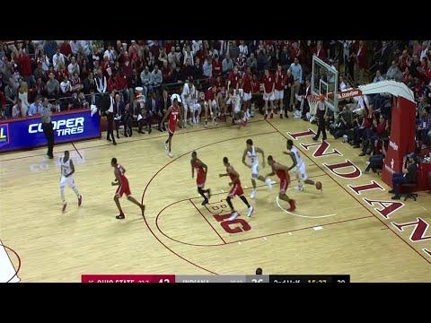 Big Ten Men's Basketball: Ohio State at Indiana