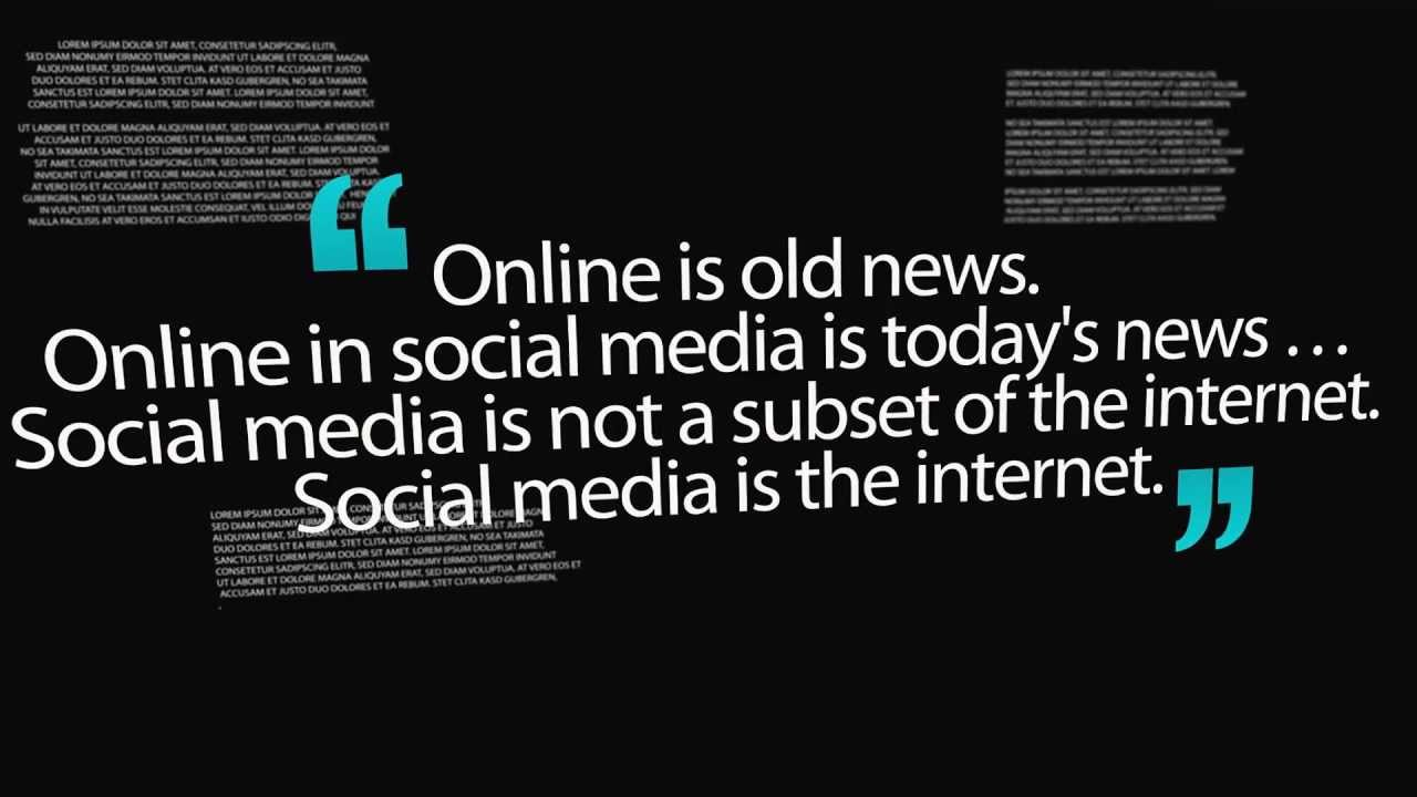 Social Media Quotes Famous Social Media Quotes  Youtube