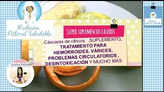 Hesperidina calcio diosmina y