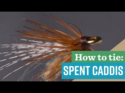 Classic Trout Flies: The Spent Caddis Fly Pattern - Absolute Killer And Easy To Learn!