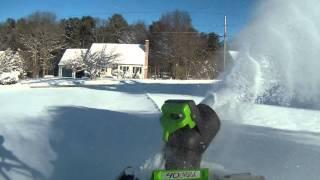 Greenworks DIGI-PRO GMAX 40V 20″ Cordless Snow Thrower
