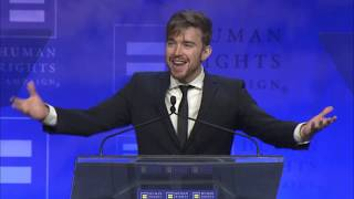 Chandler Massey Speaks at HRC's Atlanta Dinner 2018