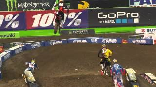 Supercross LIVE! 2014 - 2 Minutes on the Track - 250 Second Practice from the First Race in Anaheim