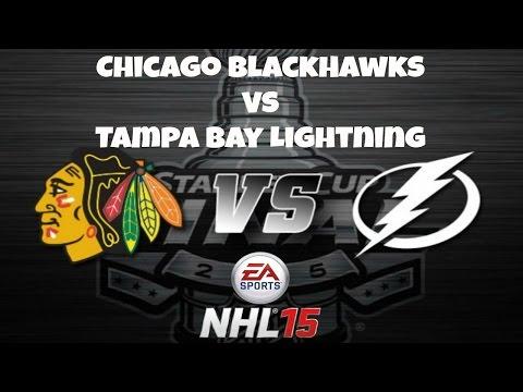 NHL 15: Blackhawks vs Lightning (Stanley Cup Finals)