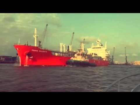 PRINS MAURITS - Lagos harbour, Nigeria