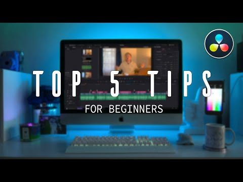 Davinci Resolve Tips for Beginners | Davinci Resolve Tutorial