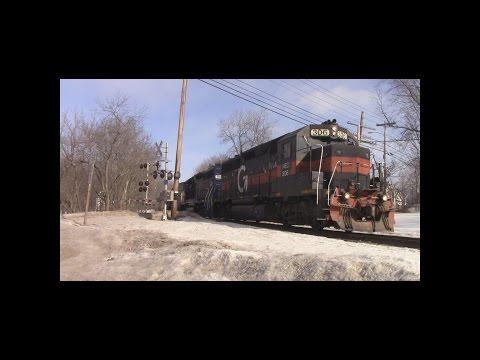 "Pan Am Railways 3/4/17 ""MAWA"" Hermon-Pittsfield Chase w/ MEC #306"