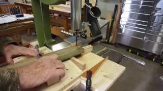 Band Saw Used For Compound Cuts To Make Double Dovetails