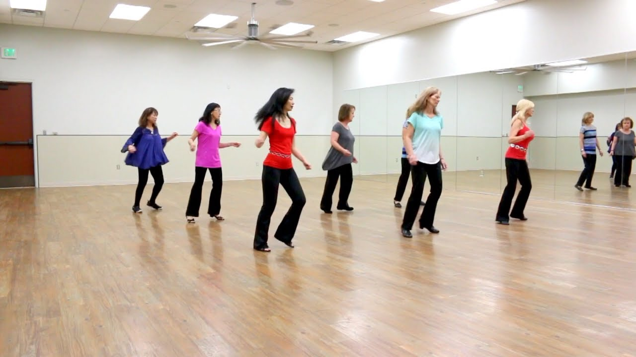 Call Me When It's Over - Line Dance (Dance & Teach in English & 中文) - YouTube