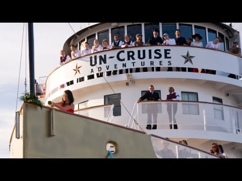 Un-Cruise Adventures: Christening the S.S. Legacy