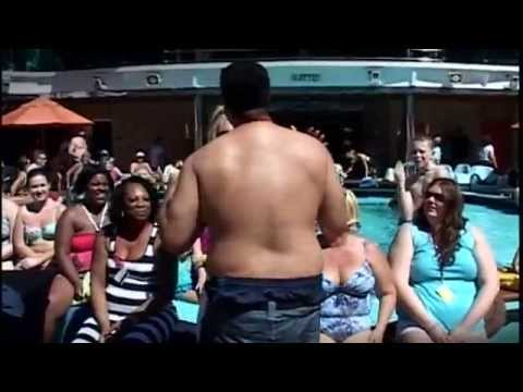 Rob's Carnival Cruise 2014  Hairy Chest Contest