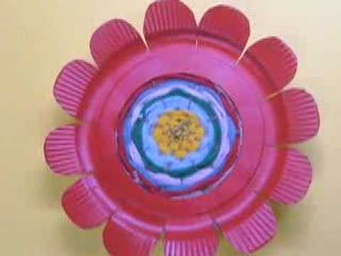 & Ku-Ku4KIDS Weaving Flower (Flor Tejida) - YouTube