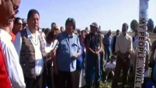 Native American Longhouse Site Dedication Part 1
