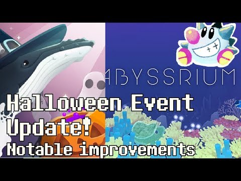 Tap Tap Fish - AbyssRium Halloween 2018: Event update! Easier, new fish!