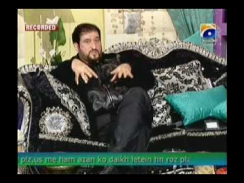 Nadeem Akhtar Saifi of Nadeem Shravan in NADIA KHAN SHOW    Part 6 of 13