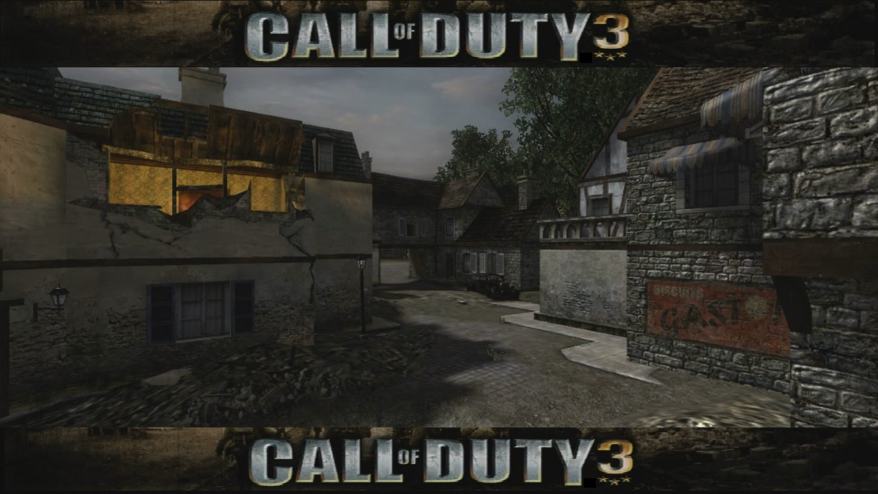 Call Of Duty 3 Maps lets Review Call of Duty 3 Multiplayer Maps Map 02   YouTube