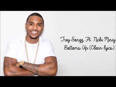 Trey Songz ft. Nicki Minaj - Bottoms Up (Clean Lyrics)