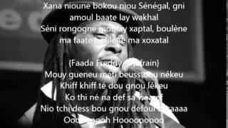Fou Malade Feat Faada Freddy - Niary Kasso ( Lyrics )