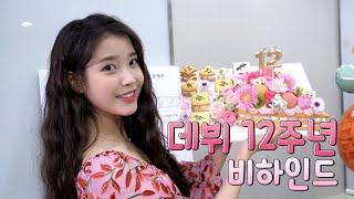 [IU TV] 데뷔 12주년 비하인드