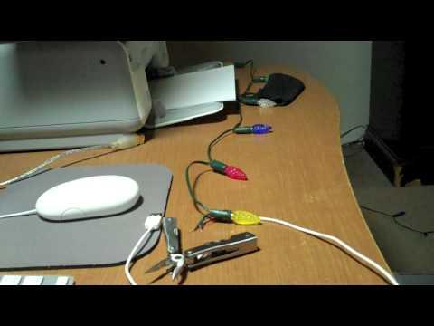 How To Make USB Christmas Lights 11/29/09