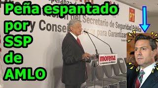 #AMLO presenta al que será el Secretario de Seguridad Pública, y Peña y el #PRI no lo pueden creer. thumbnail