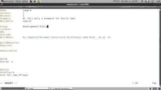 build rpm on rhel6