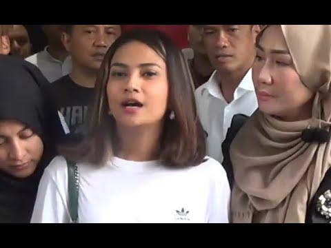 Usai Diperiksa, Vanessa Angel Minta Maaf
