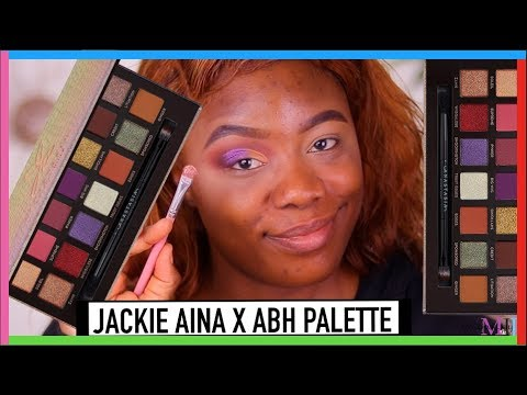 JACKIE AINA PALETTE TUTORIAL | MsTopacJay thumbnail