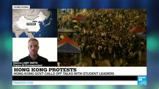 Hong Kong: government calls off talks with student leaders