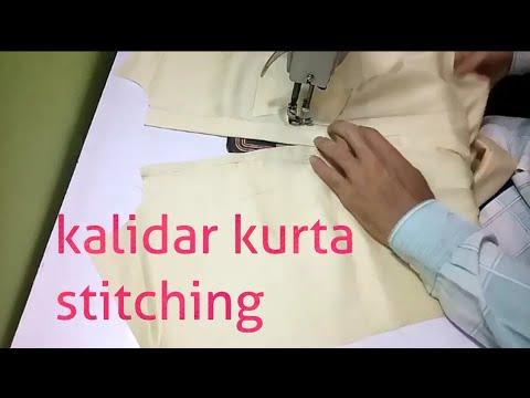 Kalidar kurta stitching