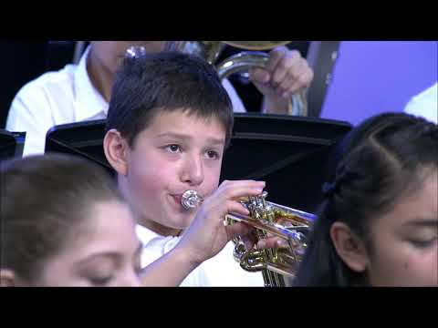 Dexter McCarty Middle School Band Holiday Showcase 2019 MetroEast