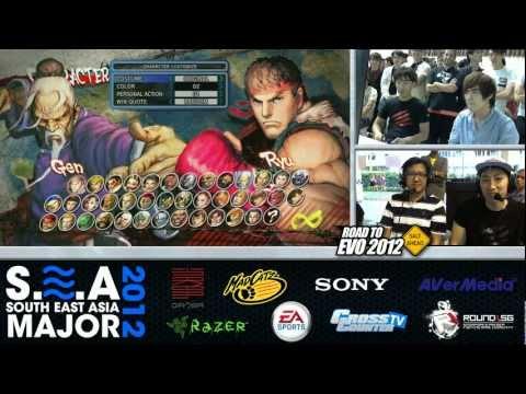 Madcatz Daigo (Ryu) vs DM | Cross Counter Asia Xian (Gen) Race to 7 - SEA Major Grand Finals pt 3